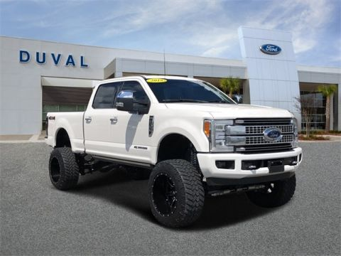 2018 Ford F-350SD Platinum